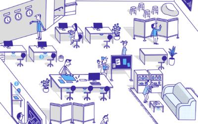 Les Avantages du Flex Office   Pourquoi le bureau flexible plait autant ?